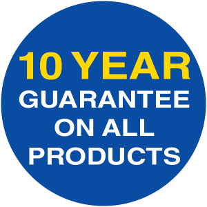10 Year Gurantee on all products
