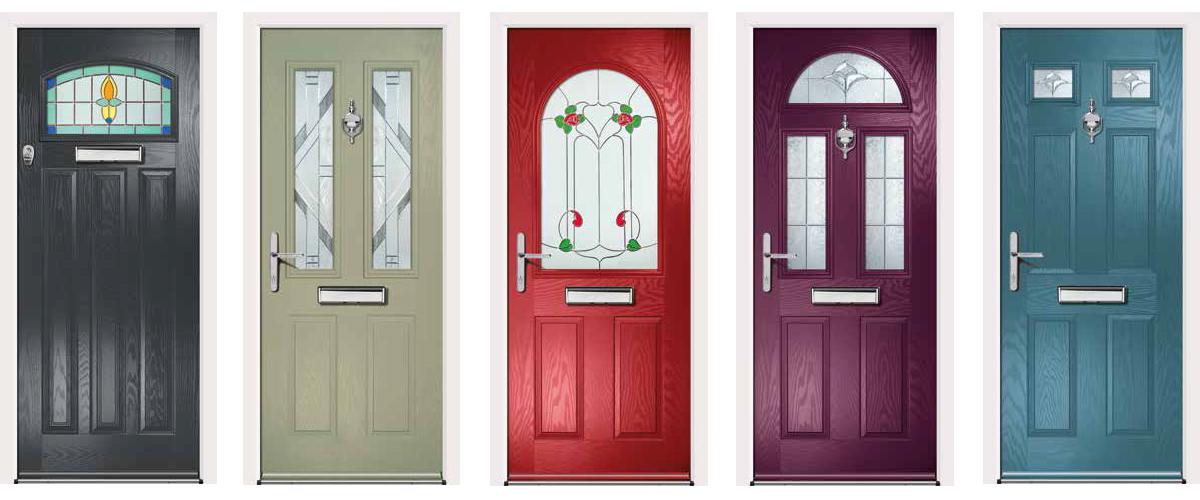 Woodgrain Composite Doors